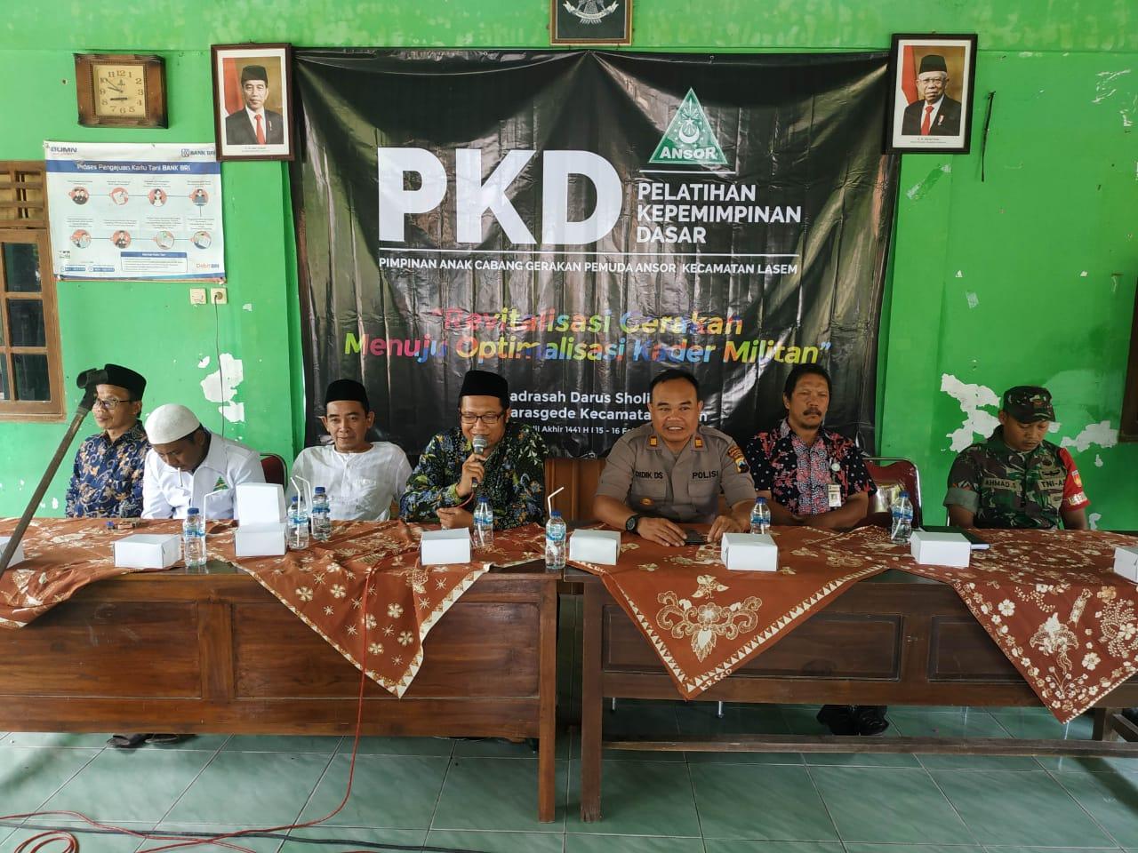 GP Ansor Lasem Gelar PKD