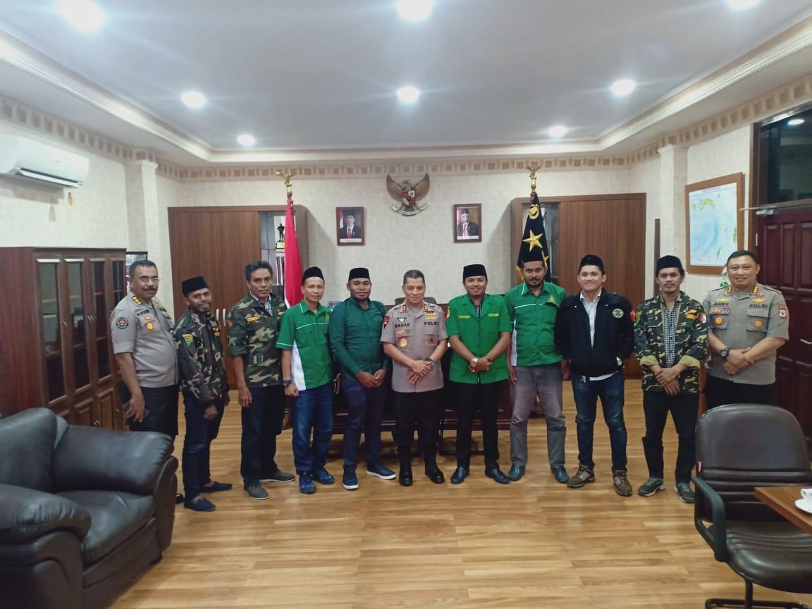 Kapolda Maluku Siap Kerja Sama Dengan Ansor Maluku