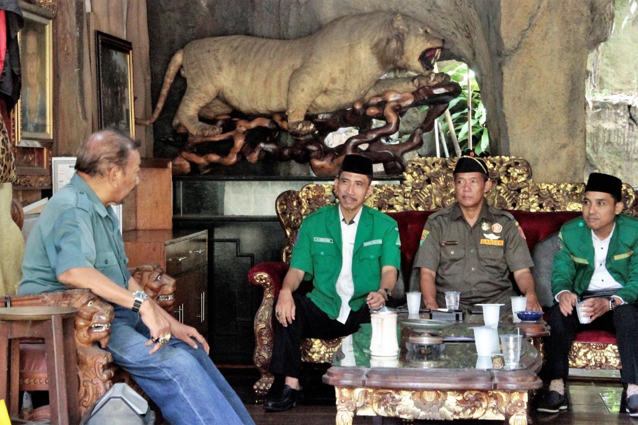 Ansor Bali Sowan ke Raja Pemecutan