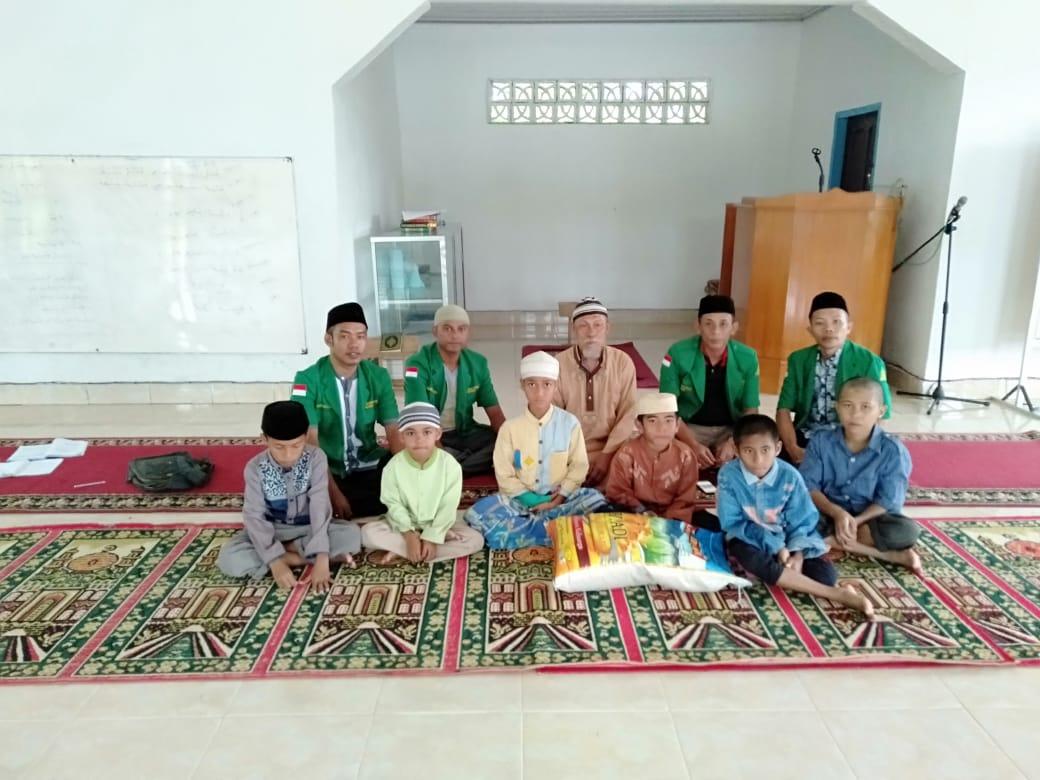 Ansor Baubau Sambangi Panti Asuhan Hidayatullah dan Ponpes Hafis Quran