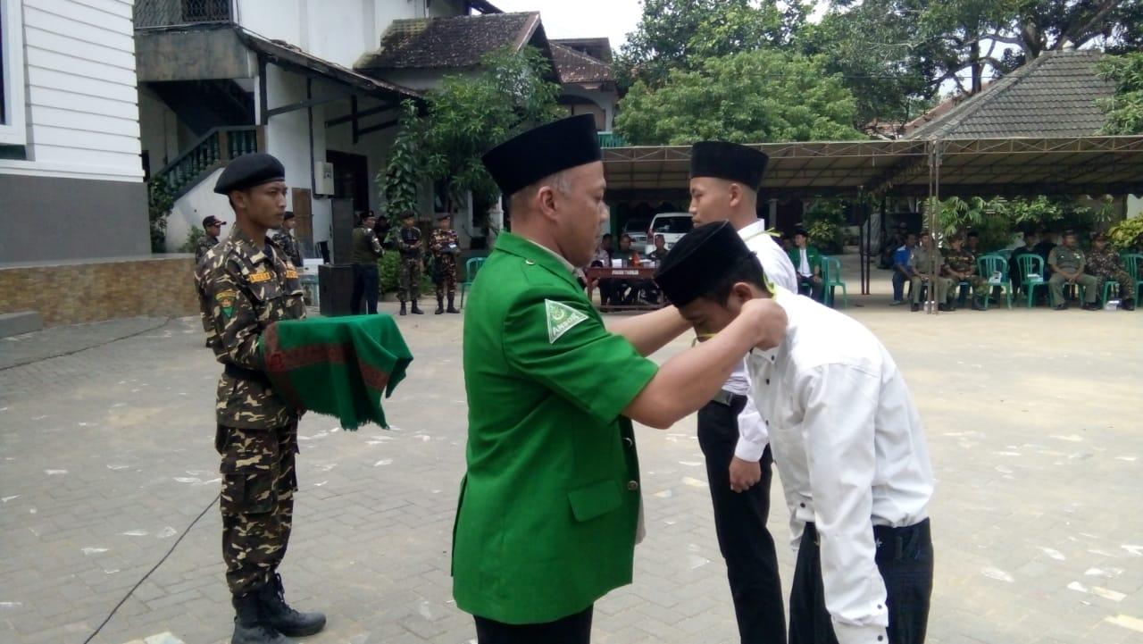 Pembukaan Diklatsar BANSER PAC GP ANSOR Arjosari Kabupaten Pacitan